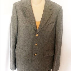 J.G. HOOK Grey Wool Blazer
